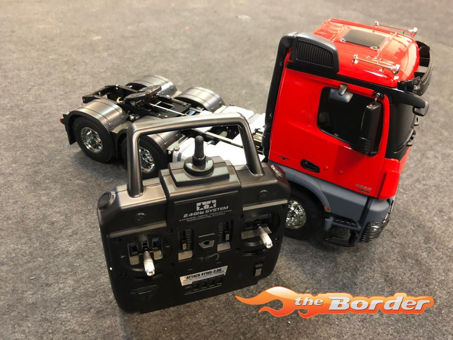Tamiya Builded Red XB Mercedes-Benz Arocs 3363 6x4 23802