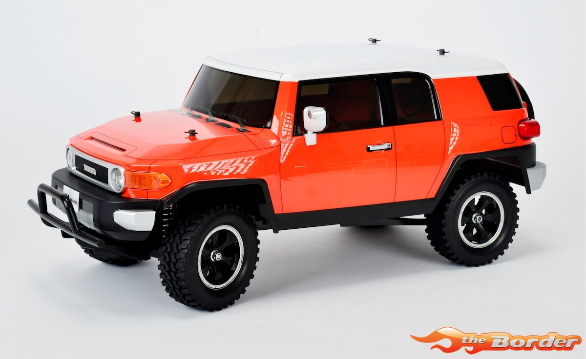 Tamiya toyota fj cruiser body for cc 01 and cr 01 267mm 51560