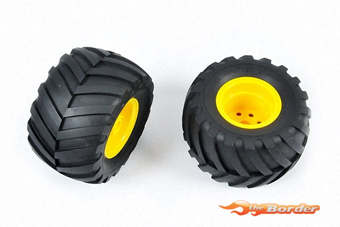 Tamiya Tires /Wheels 2pcs. 9805562