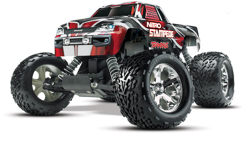 Traxxas Nitro Stampede 2 4ghz W 2amp Dc Charger 41094 1