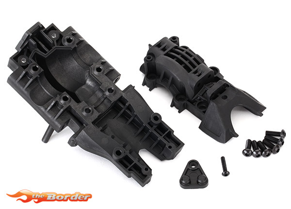 Traxxas Rear Bulkhead (Upper & Lower) 8629