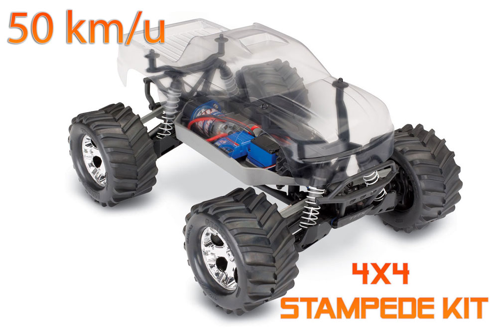 Traxxas Stampede 4x4 Assembly Kit 67014-4