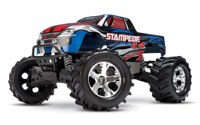 Traxxas Stampede 4x4 VXL Brushless TSM (No Battery & Charger) 67086-4