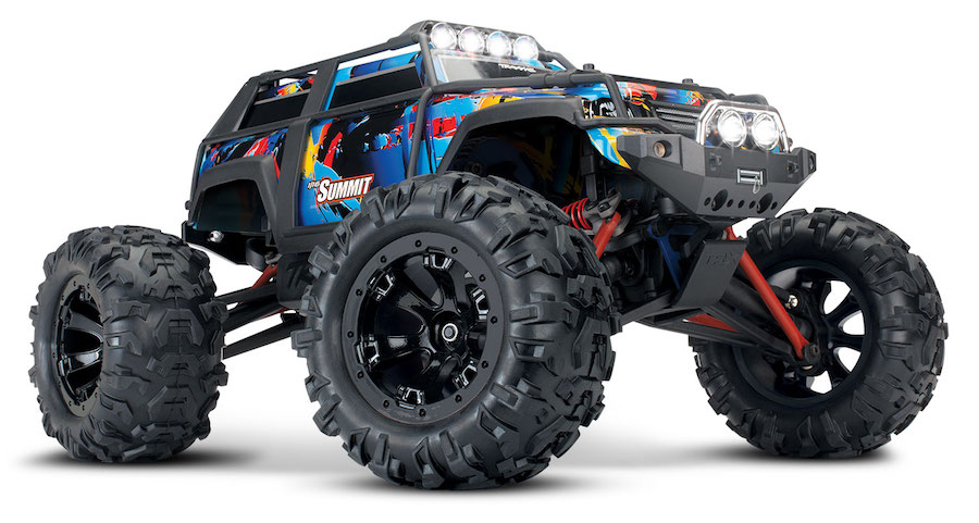 Traxxas Summit RTR Rock&Roll 2.4GHz + TSM (incl. Battery and Charger) 1/16 72054-1