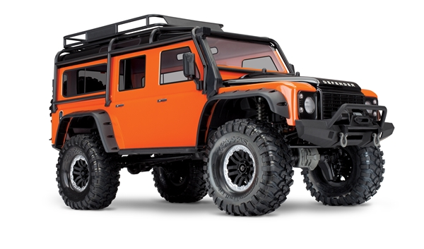 Traxxas TRX-4 Land Rover Defender Crawler - Orange 82056-4O