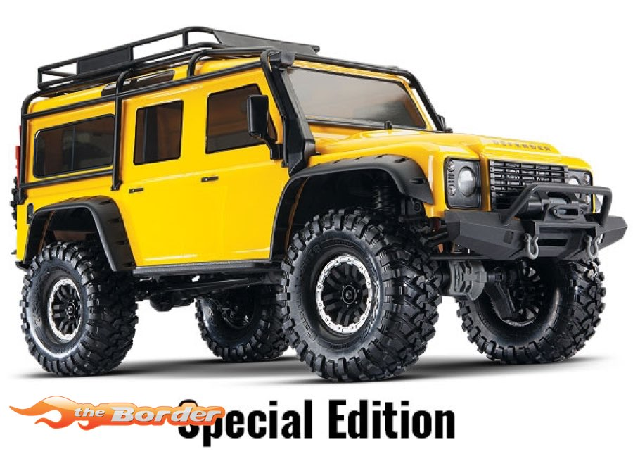 Traxxas TRX-4 Land Rover Defender Yellow Special Edition 82056-4YLW