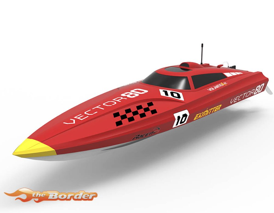 Volantex RC Vector (80 cm) High speed ABS Unibody Boats brushless