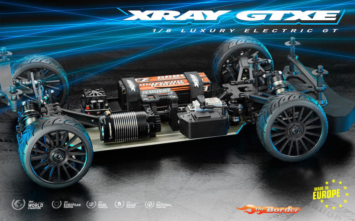 XRAY GTXE'21 - 1/8 Luxury Electric On-Road GT Car 350603