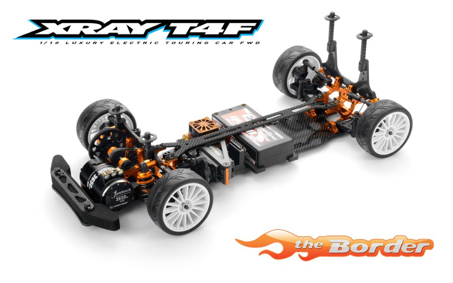 XRAY T4F 2019 Specs Frontie - 2WD Front Wheel Drive Electric Touring Car Kit FWD 300200