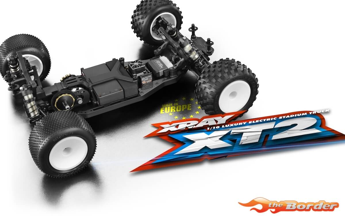 XRAY XT2 2018 - 2WD 1/10 Electric Stadium Truck 320201