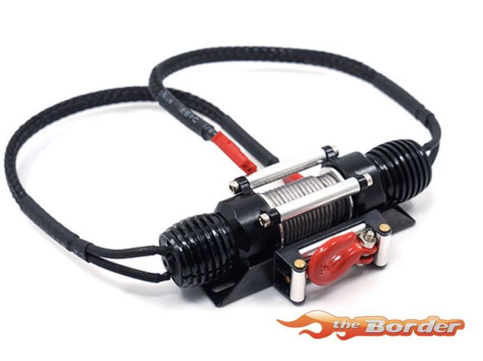 Yeah Racing RC Rock Crawler Full Electric Winch w/ Motor and Switch YA-0511BK