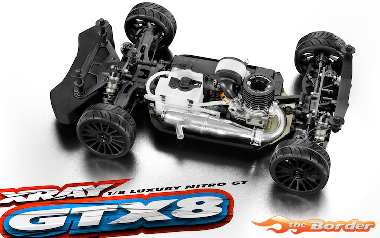 XRAY GTX8.3 - 1/8 Luxury Nitro On-Road GT Car 350502