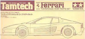 Tamiya TamTech FERRARI TESTAROSSA Body Parts Set 2617