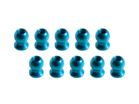 3Racing 5.8MM Hex Ball Stud L=5 (10 pcs) - Light Blue 3RAC-BS58H5/LB