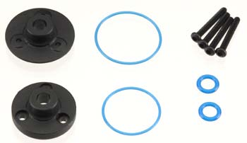 Traxxas Cover Plates/Differential/Gaskets VXL  7080