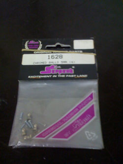Serpent Chromed Balls 5mm (4) 1628