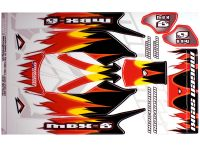 MUGEN DECAL FOR BODY MBX6 RED e0057