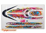 Traxxas Blast Decal Sheet (Swirl Pattern Waterproof) TRX3816