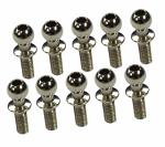 3Racing Steel 4.8MM Ball Stud L=7 (10 pcs) - 3RAC-BS4807S