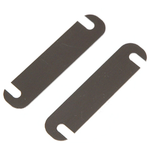 Serpent Distance plate for lower arm 0.5mm (2) 411033