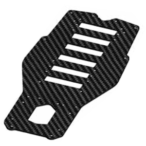Serpent Chassis plate S100 carbon 411226