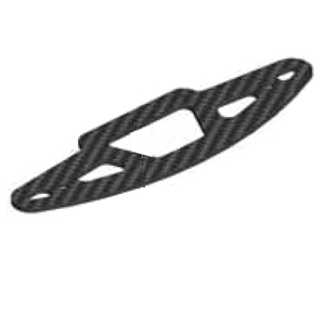 Serpent Bumper carbon S100 411240
