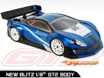 BLITZ 1/8 GT2 Body Shell 60805-10
