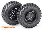 "Absima Wheel Set Crawler ""Steelhammer"" 108mm 1/10 (2 St.) 2500030"