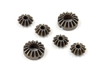 XRAY Active Diff Steel Bevel & Satellite Gears (2+4) 355130