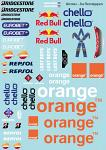 Arrows F1 Decal Sheet for 1/10 BRPD1311