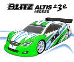 BLITZ 1/10 Altis 2.3e 190mm Scale Body 60222