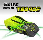 BLITZ TS040E 1/8 Onroad Body 0.8mm Electric Version 60418-08