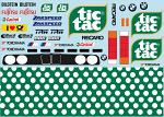 BMVV E30 TicTac Livery for 1/10 Car BRPD1532