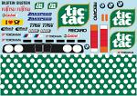 BMVV E30 TicTac Livery for 1/12 Car BRPD1530