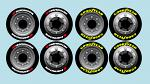 BRP Truck Tyre Decals for Touring Car Tyres - Goodyear & Hankook BRPD1219