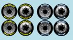 BRP Truck Tyre Decals for Touring Car Tyres - Michelin & GoodYear BRPD1221