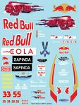 T.R. STR11 (2016) F1 Decal Sheet for 1/10 BRPD1323