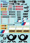 BMVV DTM (2013) 1/10 Touringcar Decal Sheet BRPD1504