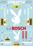 A. Playb. DTM (2014) Touringcar 1/10 Decal Sheet BRPD1507
