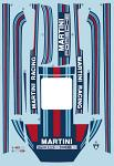 Porsch. 911 RSR Martini Decals for 1/10 bodies BRPD1537