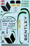 Bentley GT3 Livery for 1/10 BRPD1531