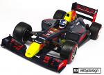 Bittydesign F1 Body 'Type-6R' 1/10 Clear Body BDF1-T6R