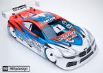 Bittydesign M410 190mm Touringcar Body for 1/10 Lightweight BDTC-190M410