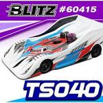 BLITZ TS040 1/8 Onroad Body 0.8mm Light Version 60415-08
