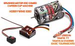 Brushed Motor Combo Hobbywing 1080 + Carson Cup Machine