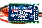 Castle Thunder Bird 36 Sport Air Brushless Esc 2-3S - 36A - Bec CC-010-0051-00