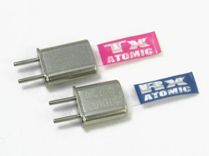 Atomic Special Crystal AM27MHz set of (2) 26.895