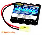 Carson Battery 4.8V 800mAh NiMH Mini Tamiya 608114