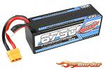 Corally X-Celerated 100C 4S LiPo Battery 6750mAh 14.8V w/XT90 C-49731