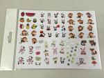 Cute Animals Decal Sheet BRPD1011